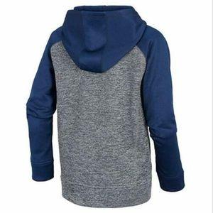 adidas Shirts & Tops - Adidas Boys' Athletic Pullover Hoodie( Navy/Orang